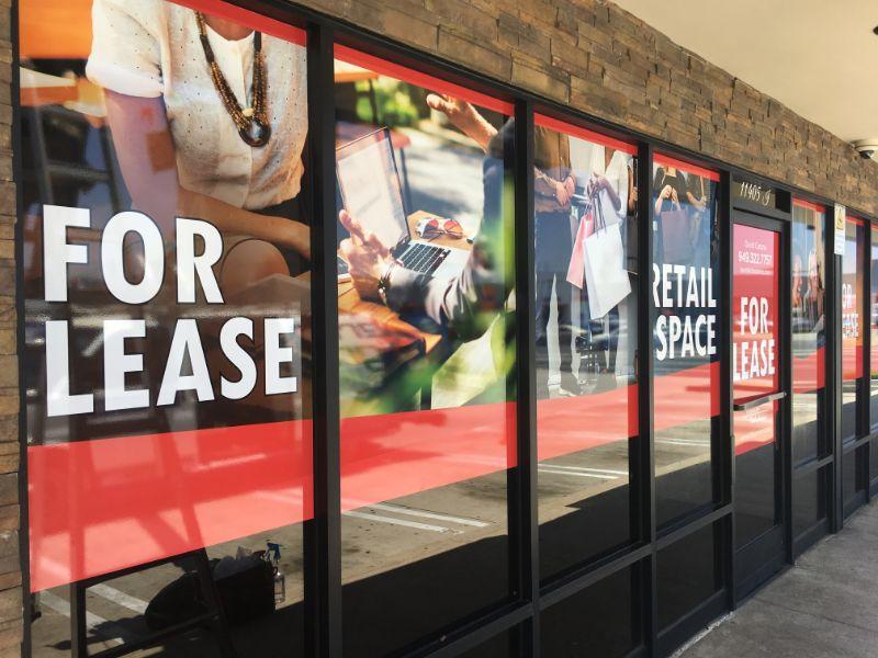 Window Graphics for Retailers
