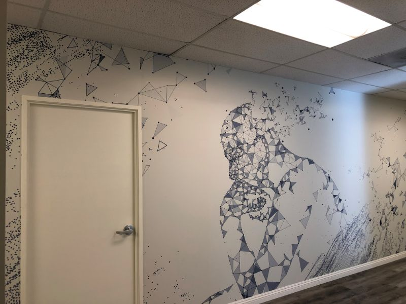 wall graphics and murals in Irvine