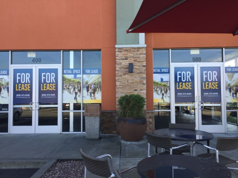 Fullerton Window Graphics Help Bring in New Customers!