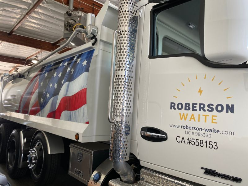 custom trailer wrap in Anaheim