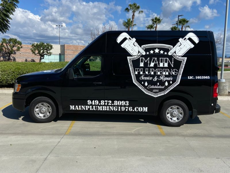 sprinter van graphics in Garden Grove
