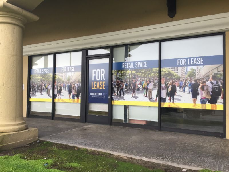 Window Graphics for Retailers in Los Angeles