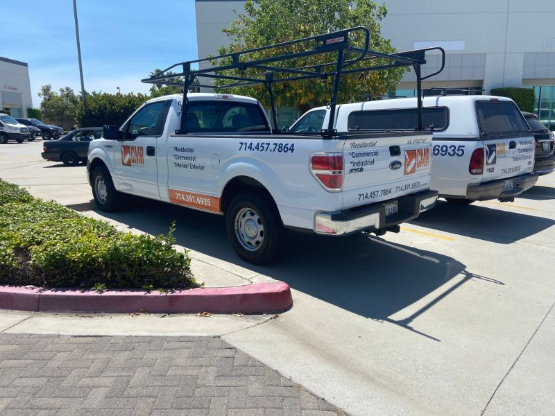 truck decals and lettering in Fullerton