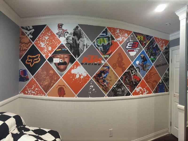 custom printed wallpaper in Yorba Linda
