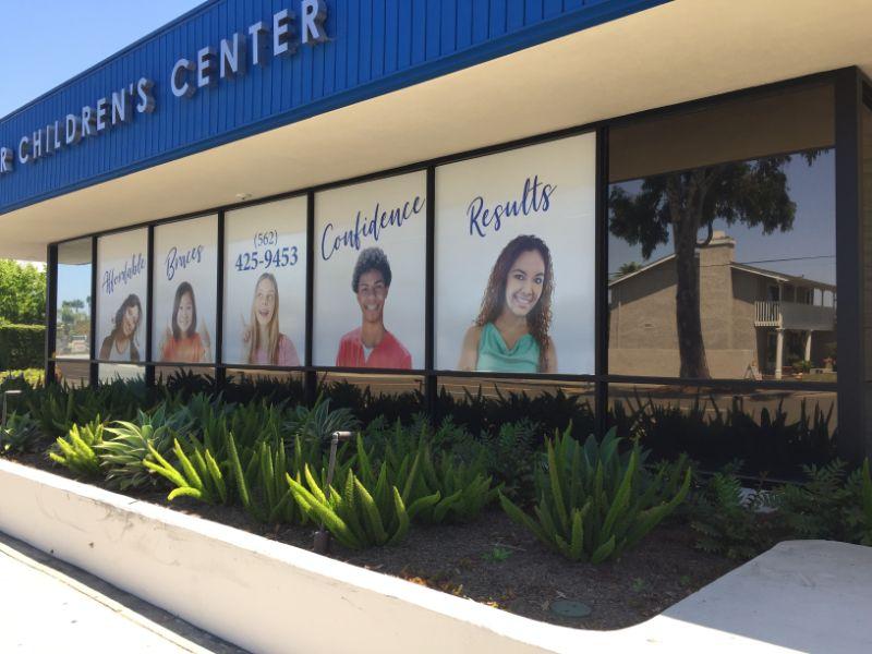 window graphics in Long Beach
