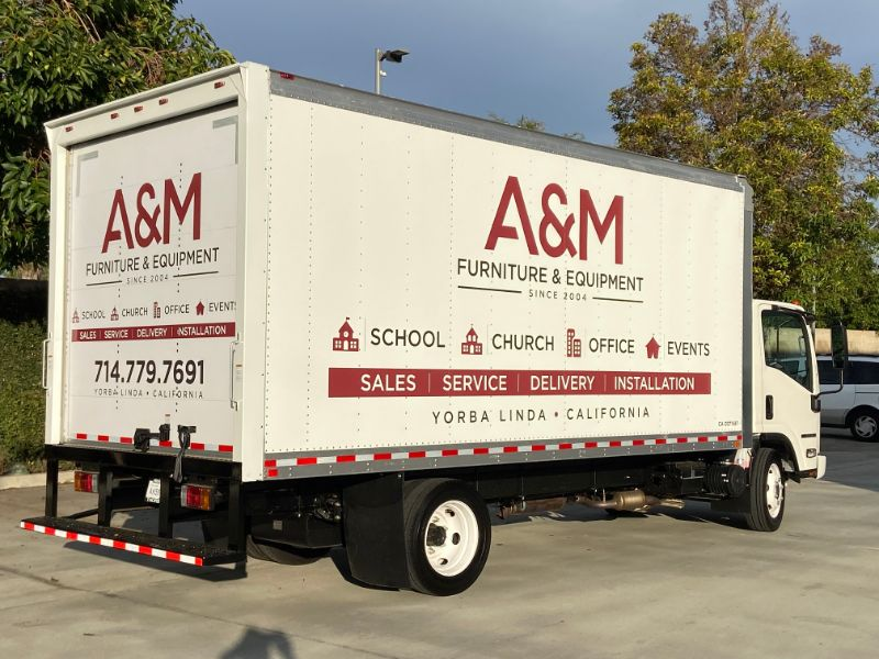 Commercial Truck Graphics Can Put Your Fleet to Work in Orange County CA