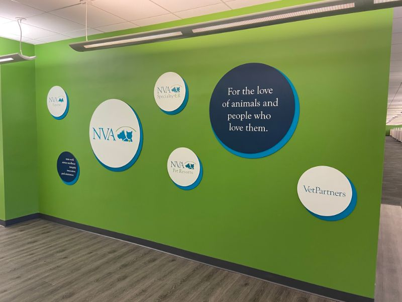 office signs and graphics branding project in Thousand Oaks CA