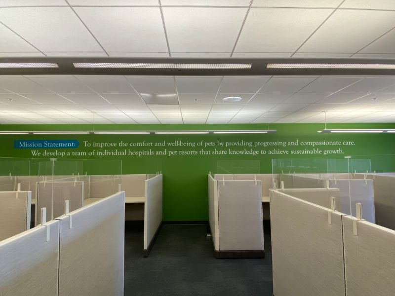 Word Wall Graphics and Wall Quotes for Offices in Anaheim CA