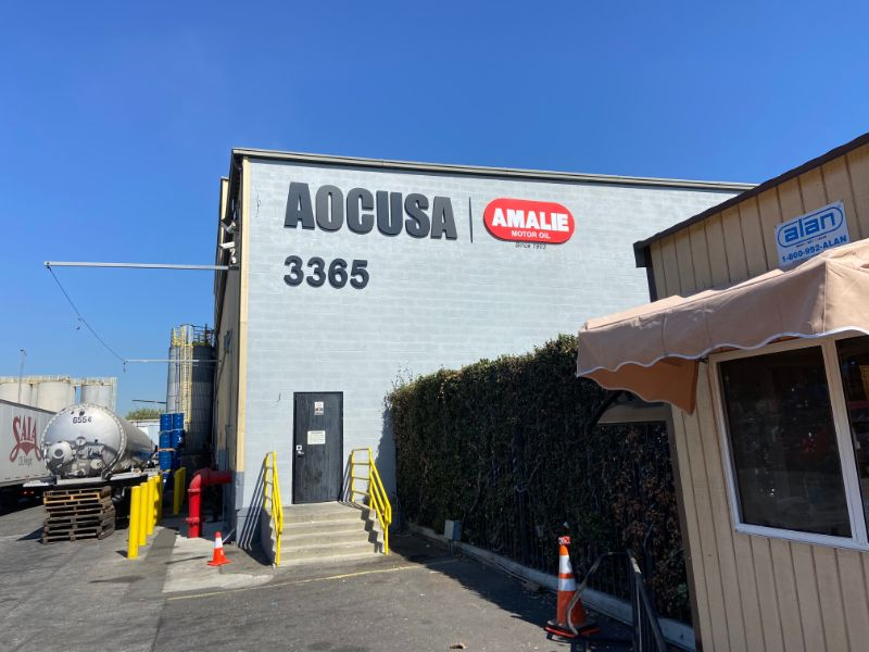 Rebranding Building Signage