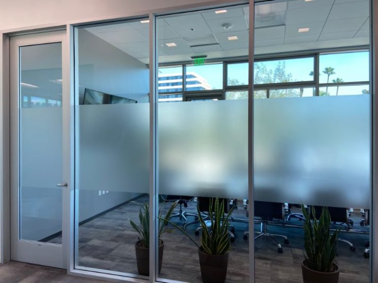window privacy film for offices in Anaheim CA
