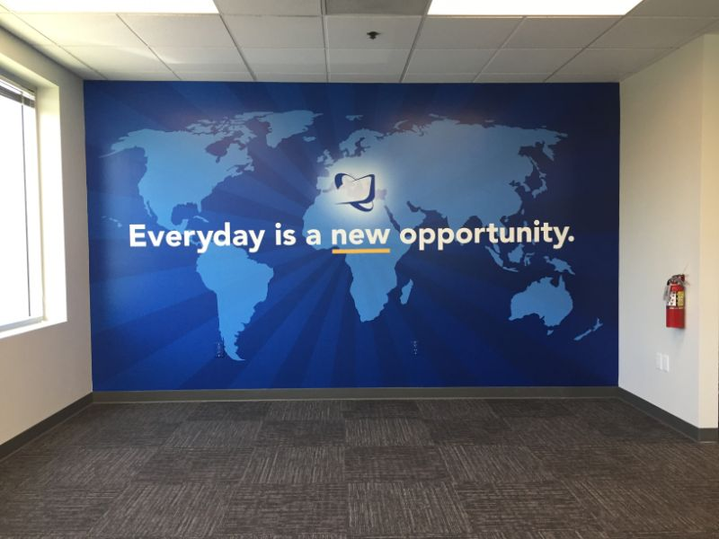 Wall Graphics for Offices in Orange County CA