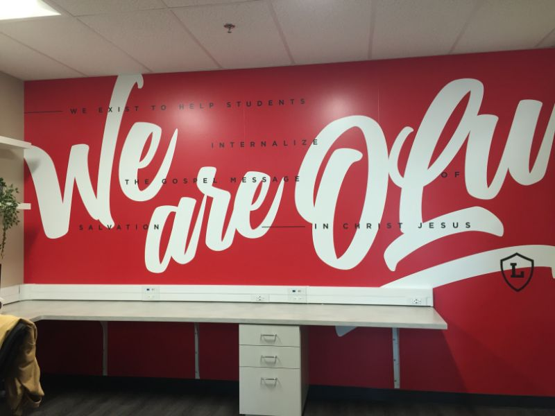 Wall Graphics for Offices in Orange County, CA