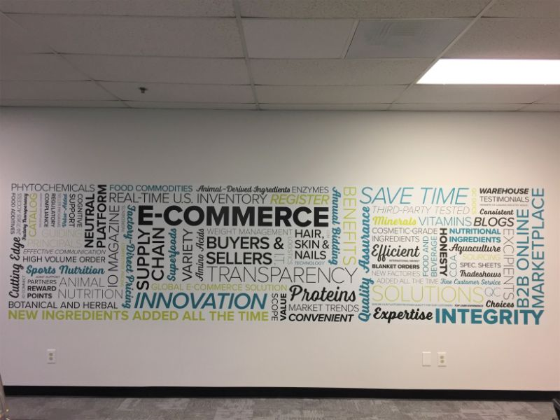 office wall graphics in Cerritos