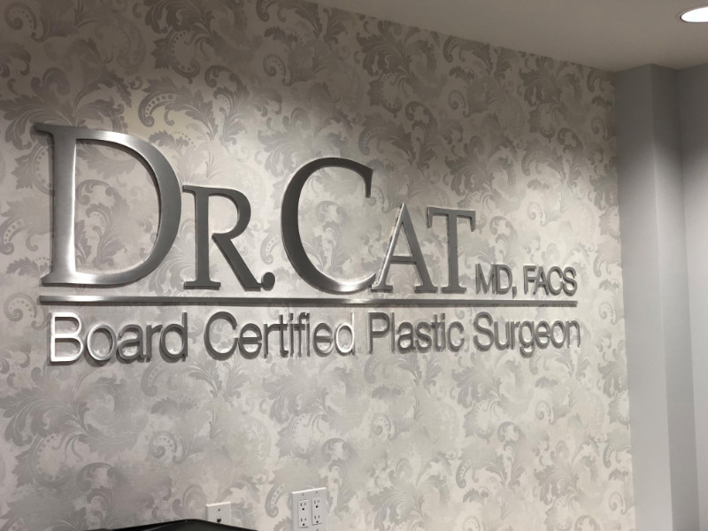 3D Logo Wall Signs for Offices in Orange County California