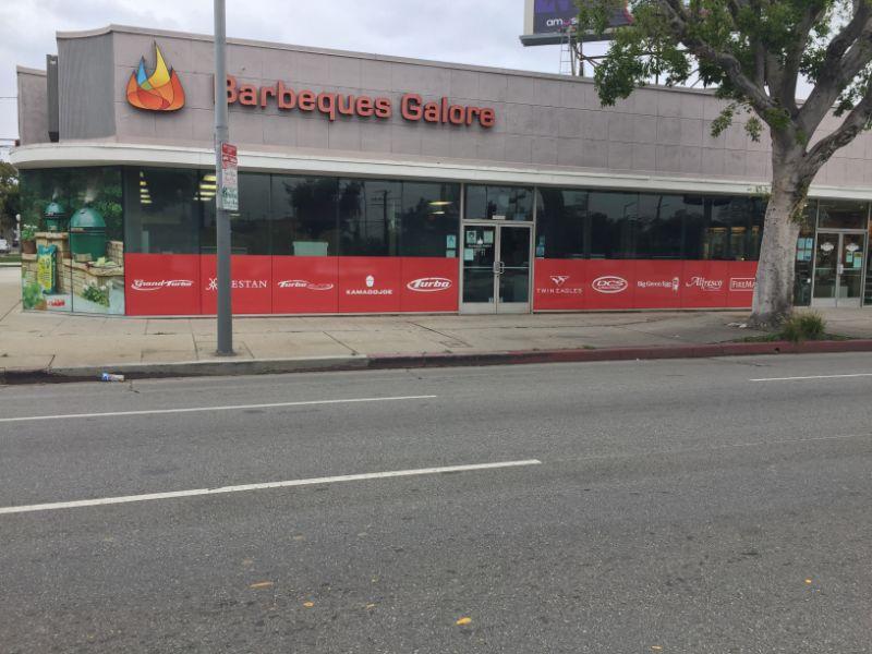 anti-graffiti window graphics in Los Angeles