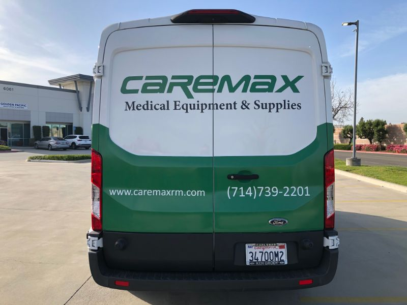 Sprinter Van Wraps in Buena Park California