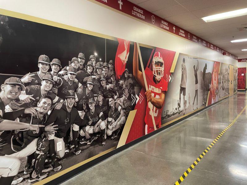 Wall Murals for Schools and Universities in Orange County CA