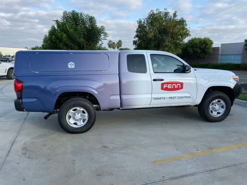 commercial truck wraps in Orange County CA