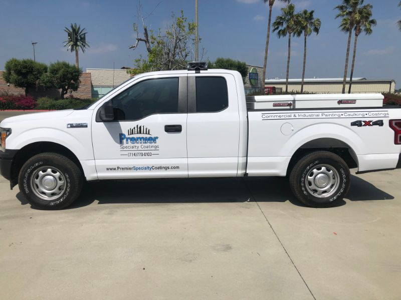 Decals & Lettering Add a Professional Look to Commercial Vehicles in Anaheim CA