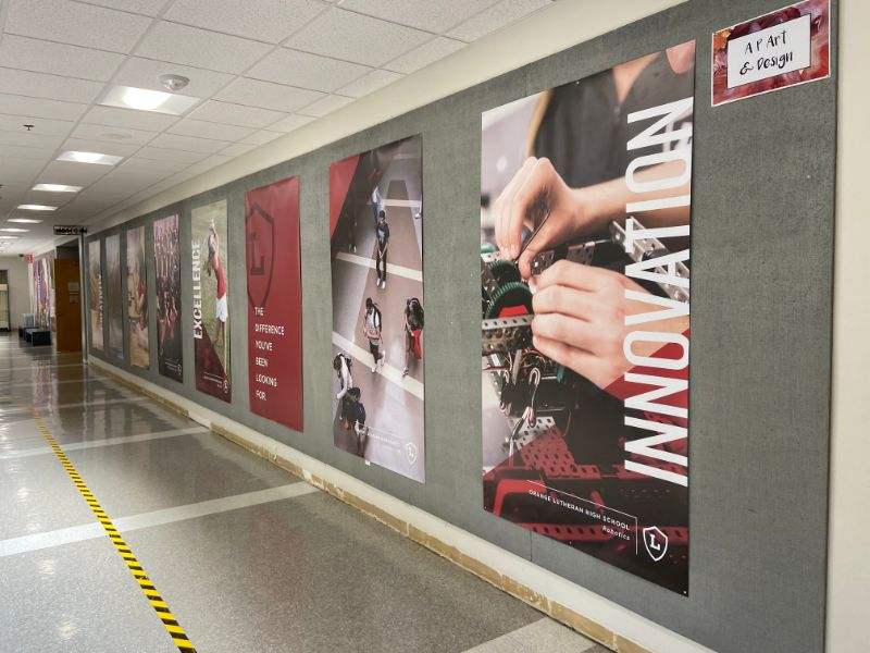 banner and wall graphics for schools in los angeles ca