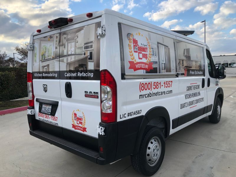 Commercial Van Wraps & Graphics in Los Angeles California