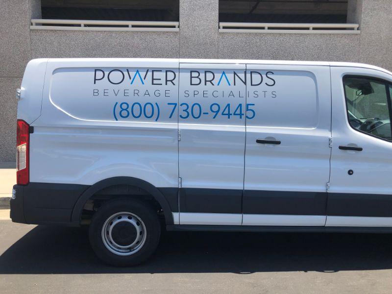 Commercial Van Wraps & Graphics in Los Angeles California!