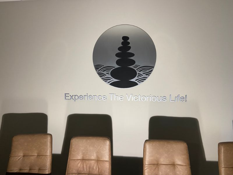 custom conference room signs and lettering in Orange County CA