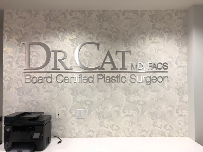 Custom Lobby Logo Wall Signs for Offices in Orange County CA
