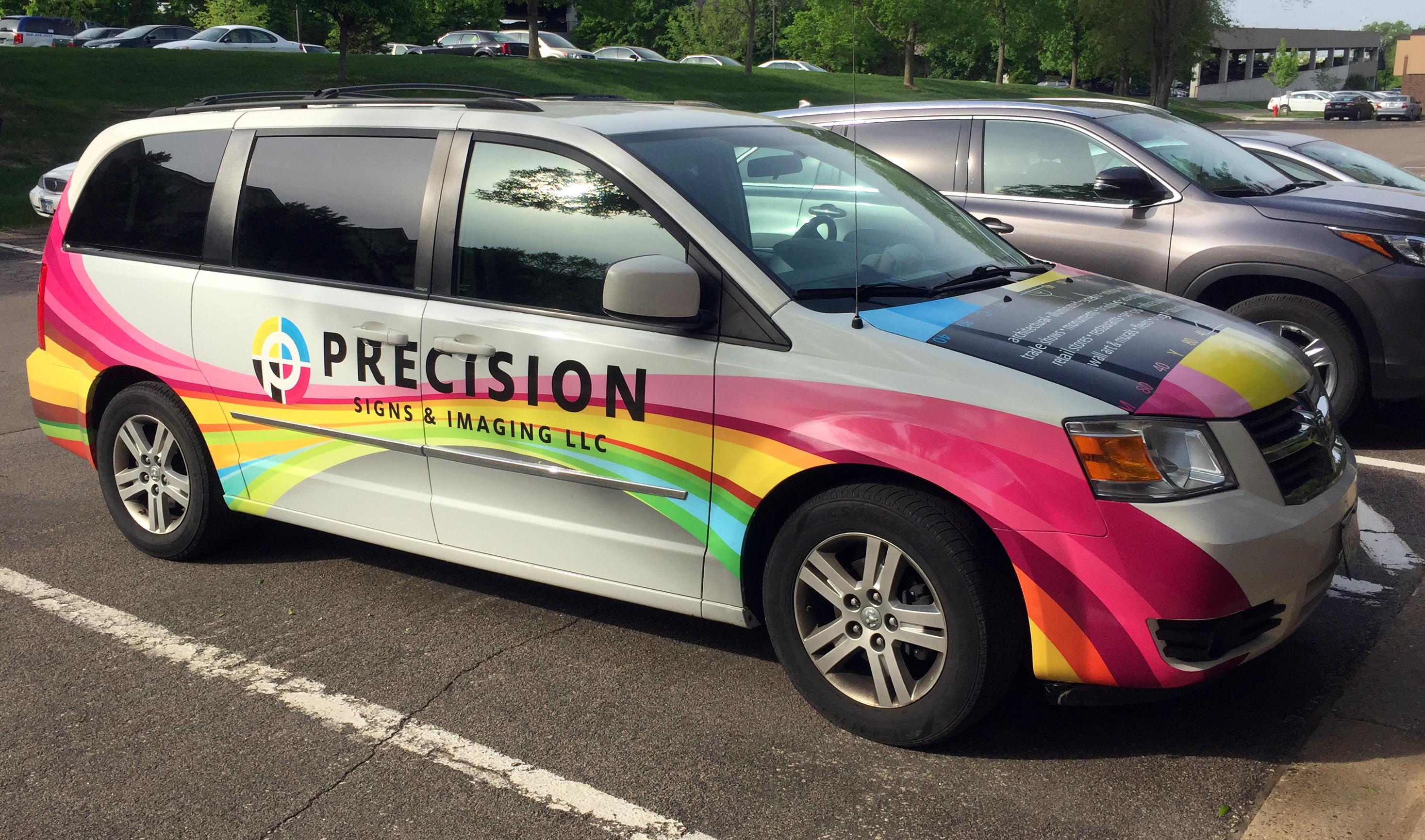 Custom Vehicle Wraps - Precision Signs & Imaging - Burnsville