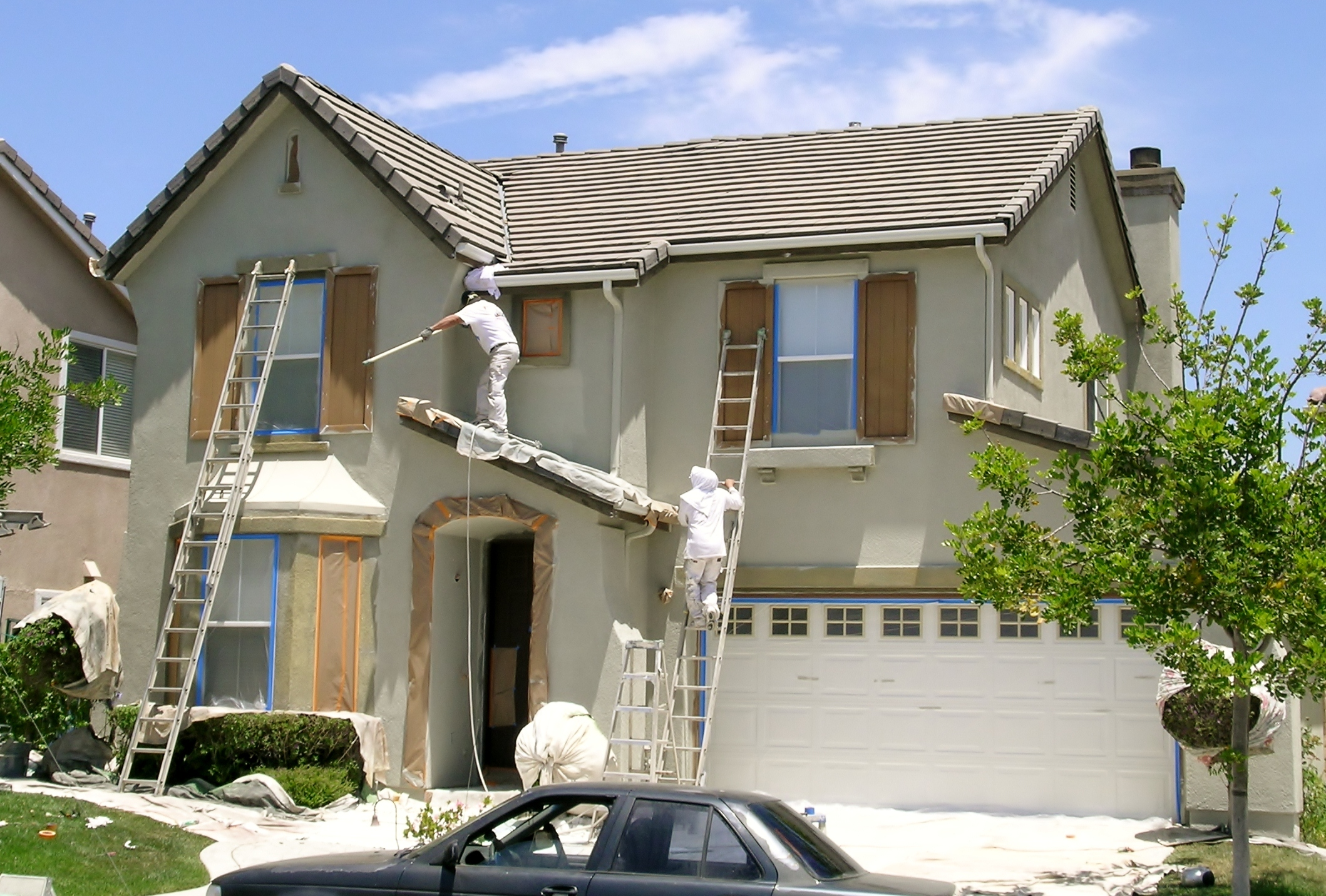 Painter\'s Blog: Exterior Painting, Stucco Repairs in Wood Ranch ...