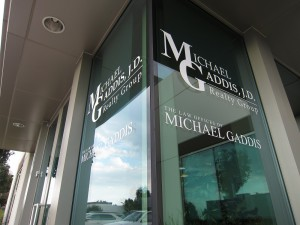 Sign Package For Michael Gaddis J D Realty Group Amp Law
