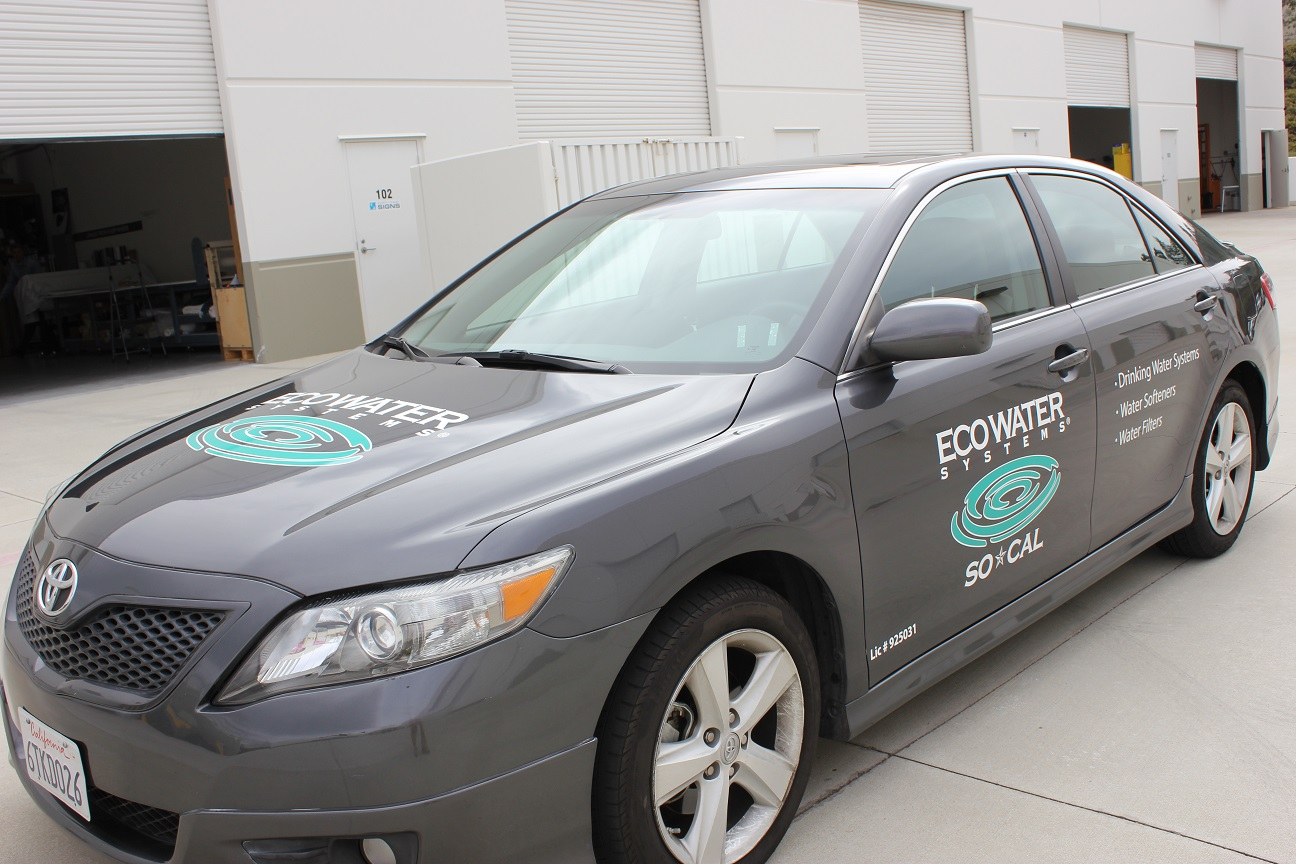 Ken Grody Ford Carlsbad >> Company Vehicle Graphics in Vista, CA for EcoWater – Environmentally Friendly Car Wraps