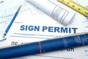 Sign permits Raleigh NC