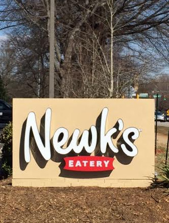 Monument Signs for Restaurants in Cary NC