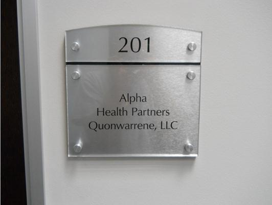 Custom Office Suite Signs Cary NC