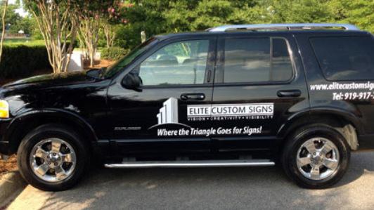 Classy fleet graphics in Raleigh NC