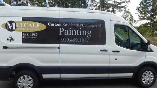 Tasteful Vehicle Graphics in Raleigh NC