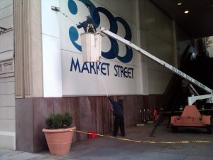 Exterior Sign Maintenance in Raleigh NC