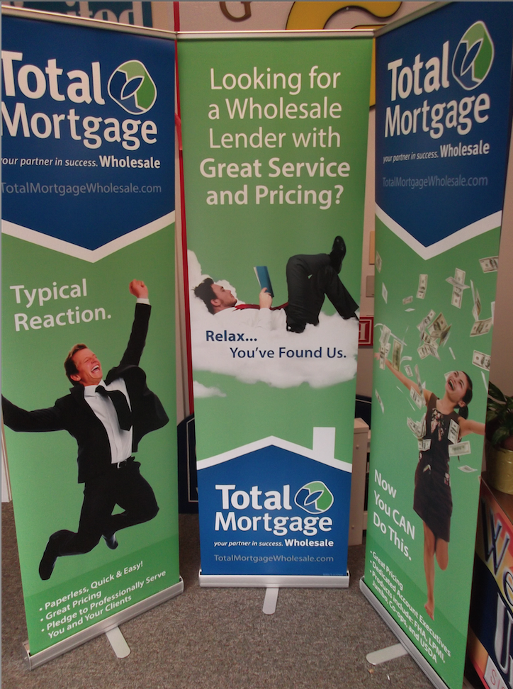 Total Mortgage S Retractable Banners