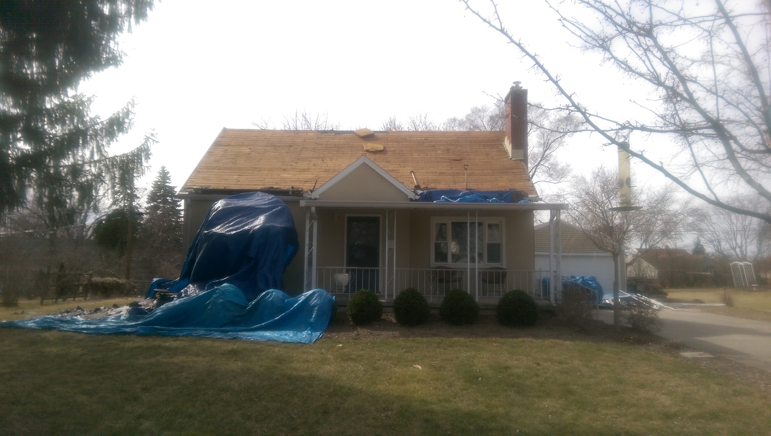 Roof Replacement After Wind Damage Dayton Kettering