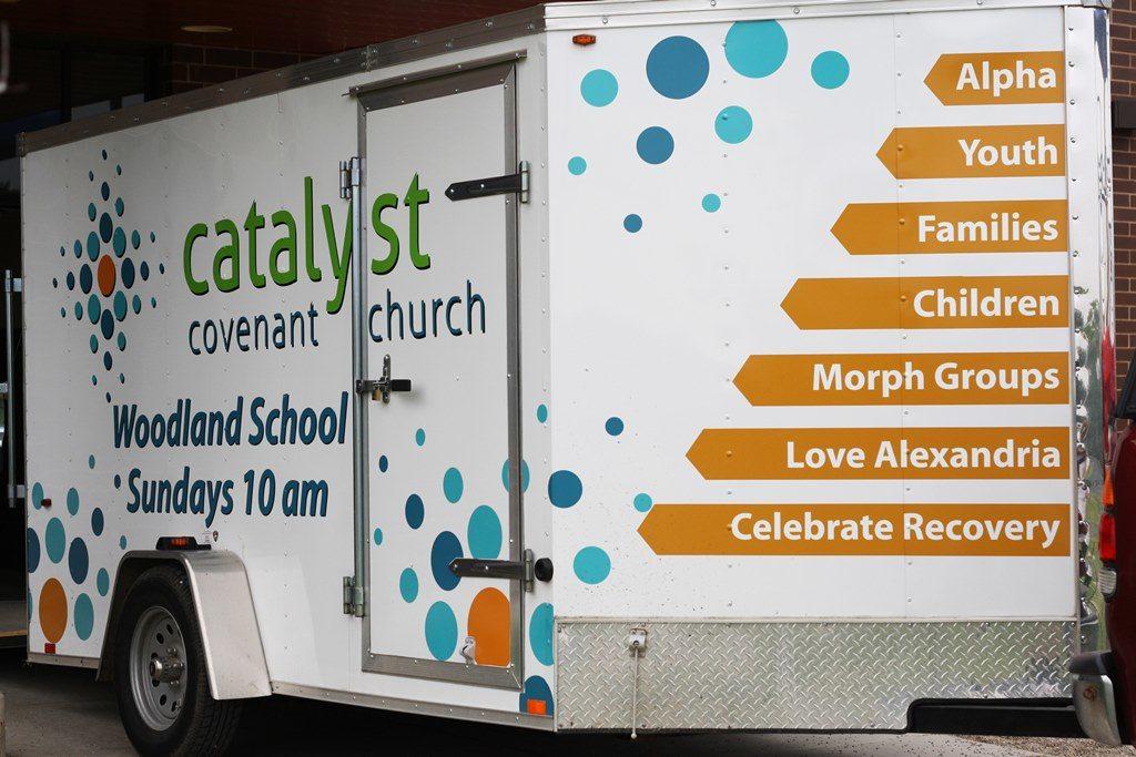 Trailer Graphics for Schools in Chicago IL