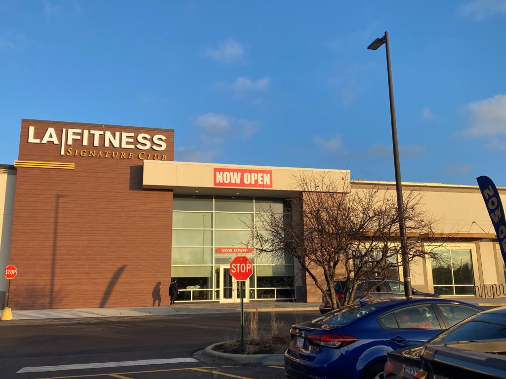 Dimensional Letter building signs in Naperville IL