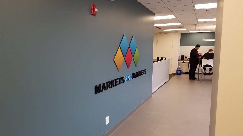 Custom Office Lobby Signs in Northbrook IL