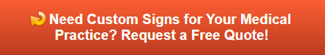 Free quote on medical office signs in St. Charles IL