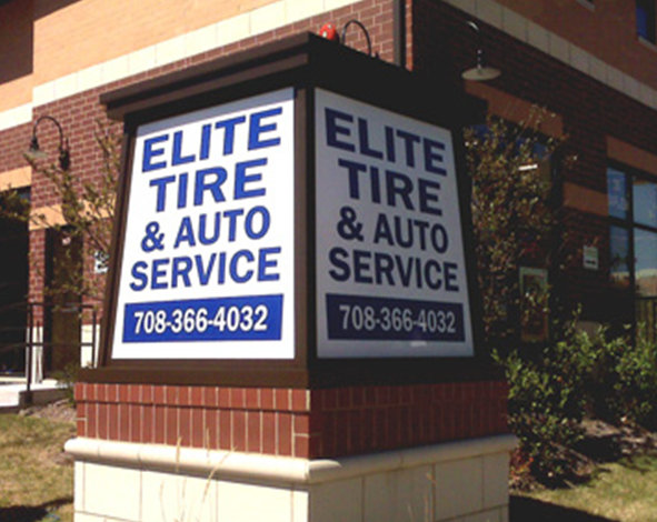 Monument Signs for Retail Stores in Chicago