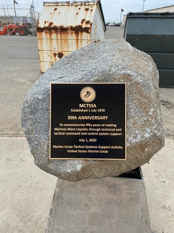 dedication plaques for military bases in Oceanside CA
