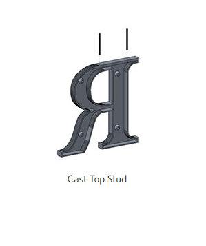 flat cut metal letters in San Diego CA