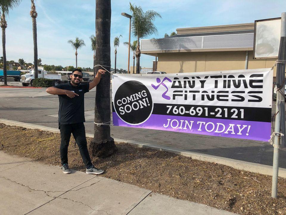 fitness center signs in Vista CA