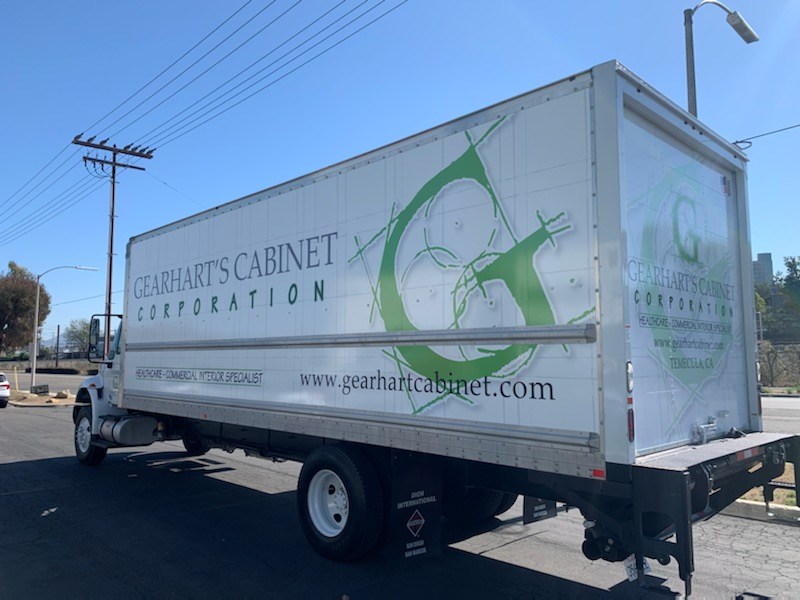 fleet vehicle graphics in Escondido CA