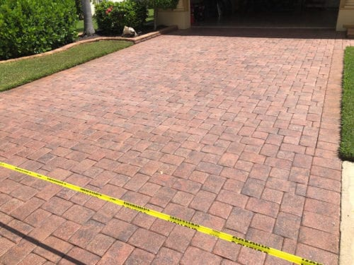 CLEAN PAVERS EQUAL BETTER CURB APPEAL
